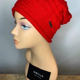 Sibelle beanie rouge