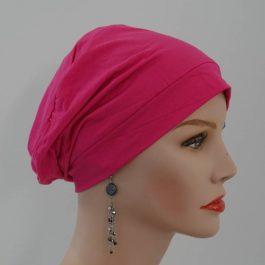 Bonnet rose bambou