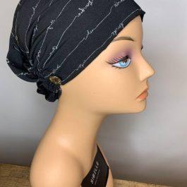 Sibelle Foulard noir élastque